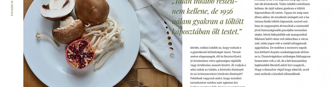 Ételekről és borokról…  megvásárolható a Kiadóban
